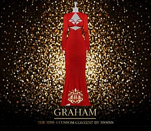 Graham Dress sims 4 cc