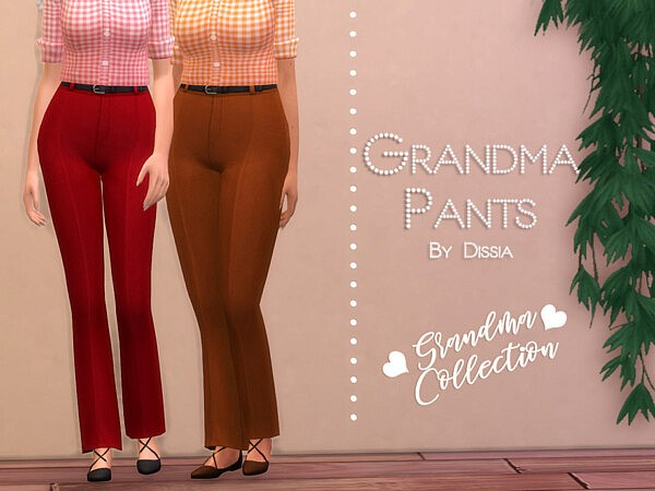 Grandma Pants by Dissia from TSR