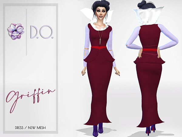 Griffin Dress by D.O.Lilac from TSR