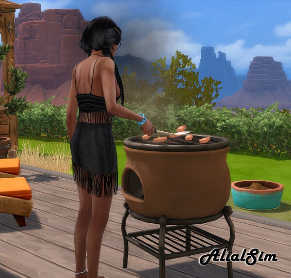 Grill sims 4 cc