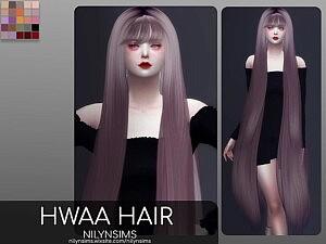 HWAA Hair sims 4 cc