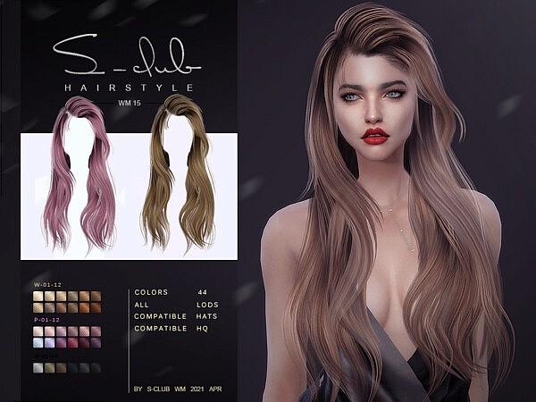 Hair 202115 sims 4 cc