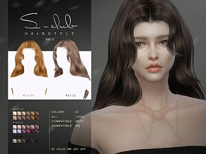 Hair 202117 sims 4 cc