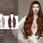 Hair N80 sims 4 cc