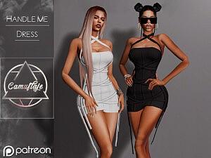 Handle Me Dress sims 4 cc
