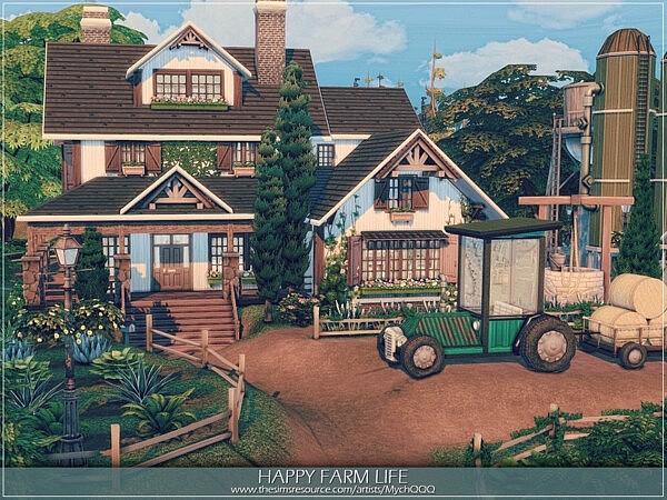 Happy Farm Life sims 4 cc
