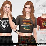 Harry Potter Shirt 01 sims 4 cc