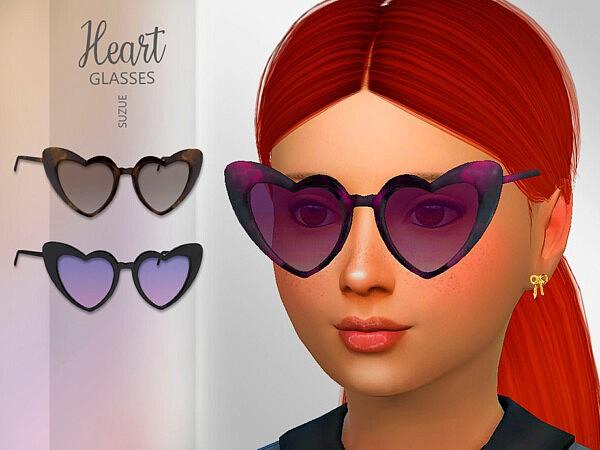 Heart Child Glasses sims 4 cc