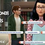 Helaene Emotional Socials sims 4 cc