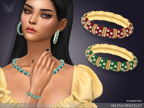 Helena Bracelet right wrist sims 4 cc