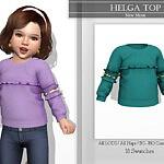 Helga Top sims 4 cc