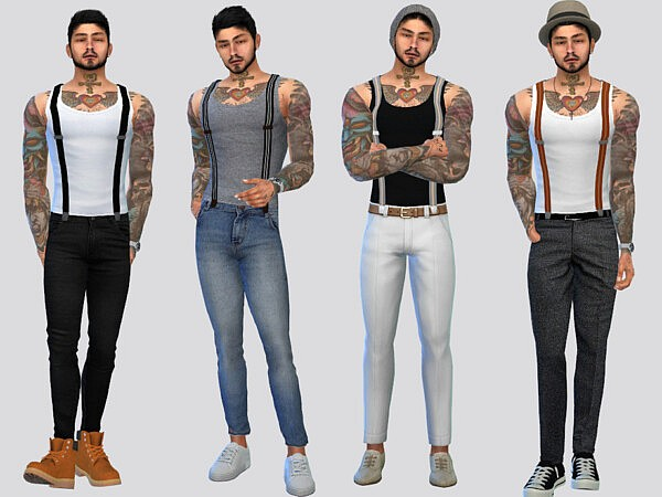 Henson Suspender Tank Top by McLayneSims from TSR