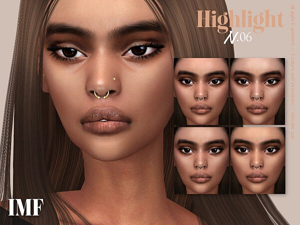 Highlight N.06 sims 4 cc