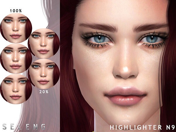 Highlighter N9 sims 4 cc