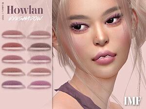 Howlan Eyeshadow N.197 sims 4 cc