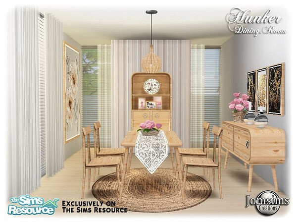 Hunker dining room sims 4 cc