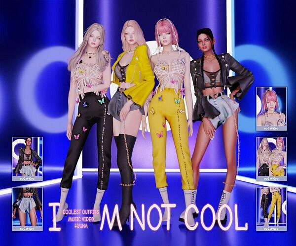 I am not cools set sims 4 cc