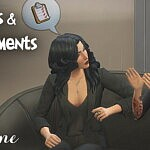 Insults and Arguments Pack sims 4 cc