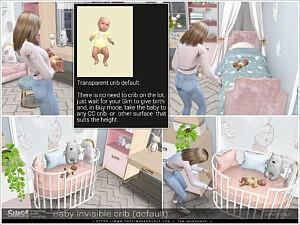 Invisible crib sims 4 cc