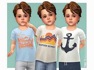 Jasper T Shirt sims 4 cc