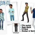 Jeans CU sims 4 cc