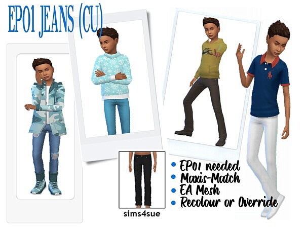 Jeans CU from Sims 4 Sue
