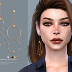 Joanne earrings sims 4 cc