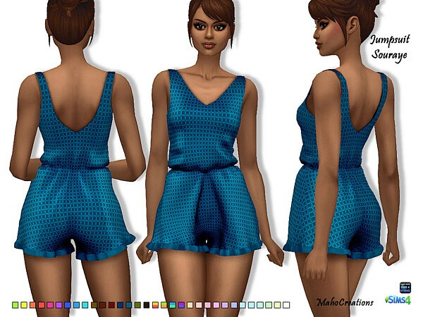 Jumpsuit Souraye by MahoCreations from TSR