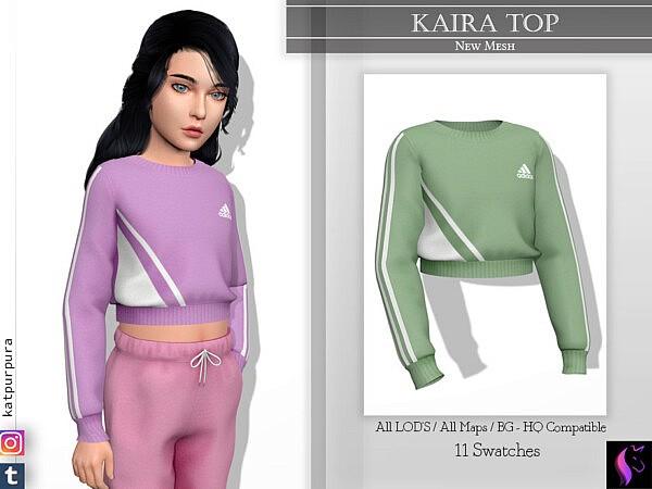 Kaira Top by KaTPurpura from TSR