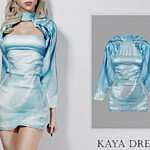 Kaya Dress sims 4 cc