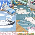 Kids Rugs Collection 2021 sims 4 cc