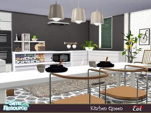Kitchen Queen sims 4 cc