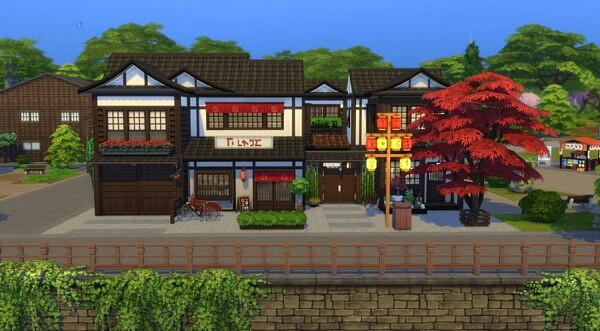 Kyoto Lot sims 4 cc