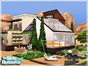 LAVAMANI house sims 4 cc