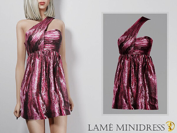 Lame minidress by turksimmer from TSR