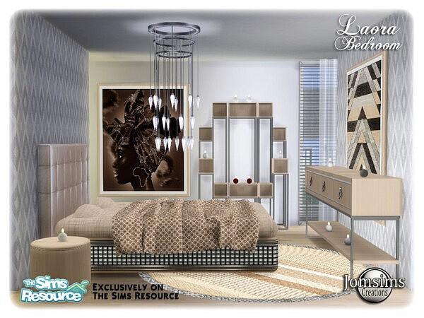 Laora bedroom sims 4 cc