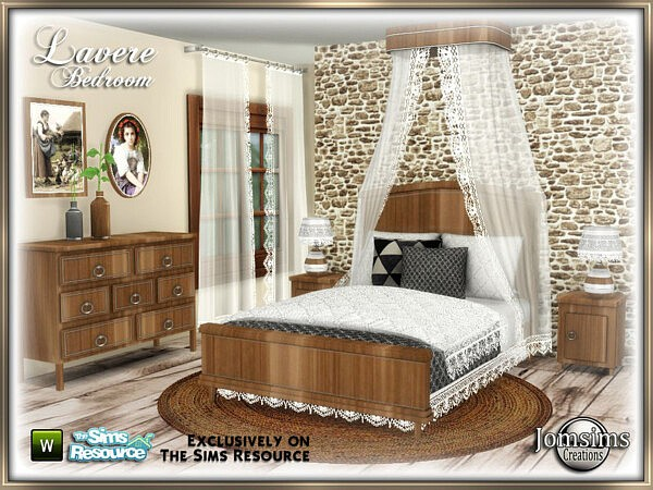 Lavere bedroom by jomsims from TSR