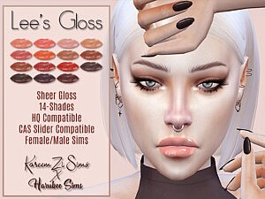 Lees Gloss sims 4 cc