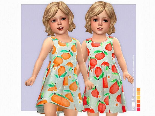Lemon Dress sims 4 cc