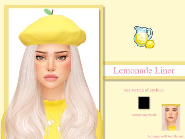 Lemonade Liner sims 4 cc