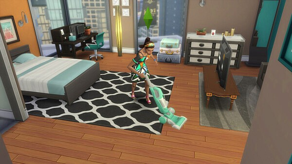 Less Autonomous Vacuuming sims 4 cc