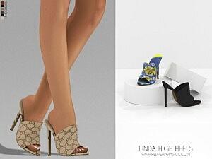 Linda High Heels sims 4 cc