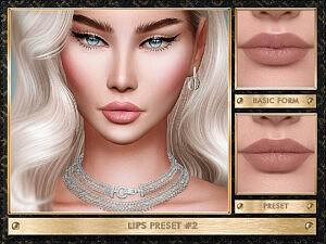 Lips Preset 2 sims 4 cc