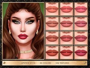 Lipstick 113 sims 4 cc