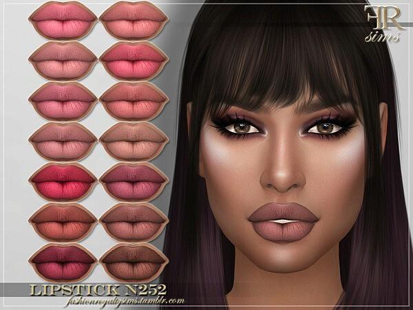 Lipstick N252 sims 4 cc
