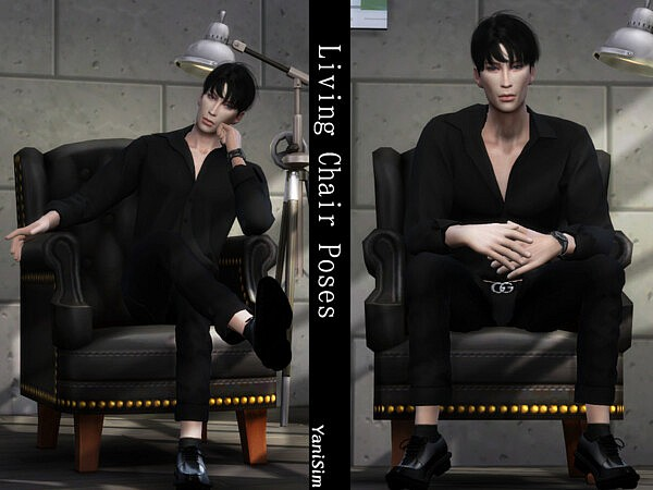 Living Chair Poses