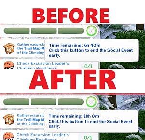 Longer Mountain Climbing Event sims 4 cc