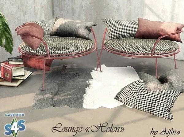 Lounge Helen sims 4 cc