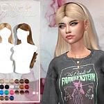 Lover Hair Set sims 4 cc