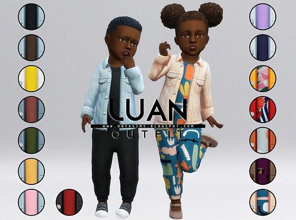 Luan Set sims 4 cc